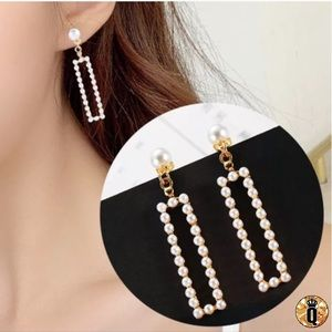 ⚜️[𝟯/$𝟭𝟴]⚜️Gold Pearl Quad Simple Earrings NEW